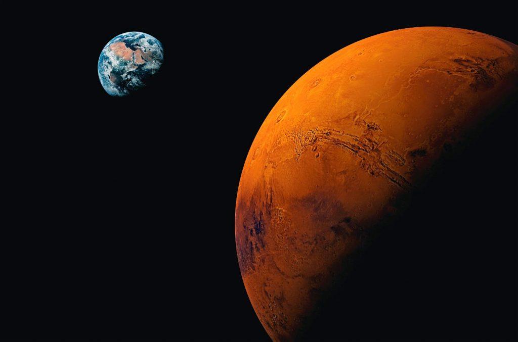 La Luna se alineará con Marte, Júpiter y Saturno