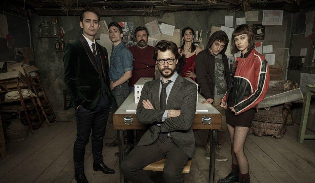 Netflix prepara una quedada mundial para ver 'La casa de papel'