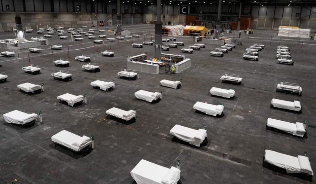Barcelona tendrá cuatro hospitales de campaña