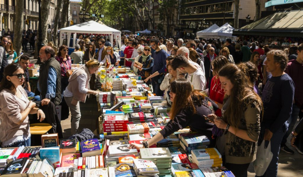 Sant Jordi 2021: habrá paradas pero menos que otros años
