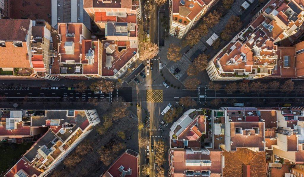 Así se ve Barcelona desde la cámara de un dron