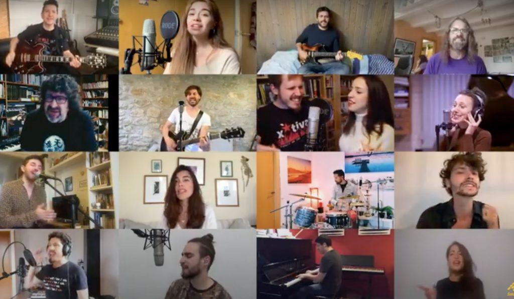 La música catalana canta a un Sant Jordi desde casa