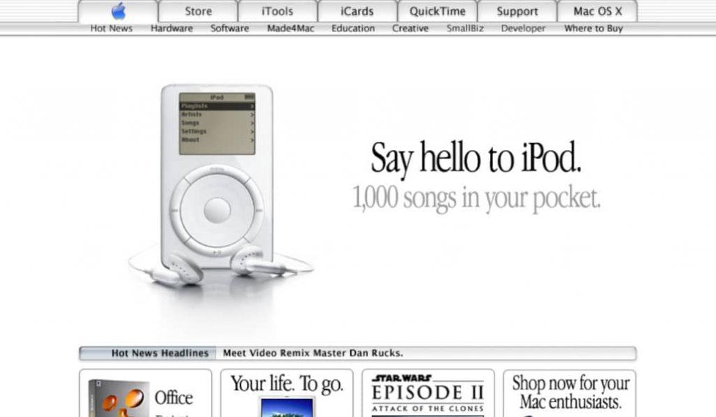 Wayback Machine: así era Internet hace 20 años