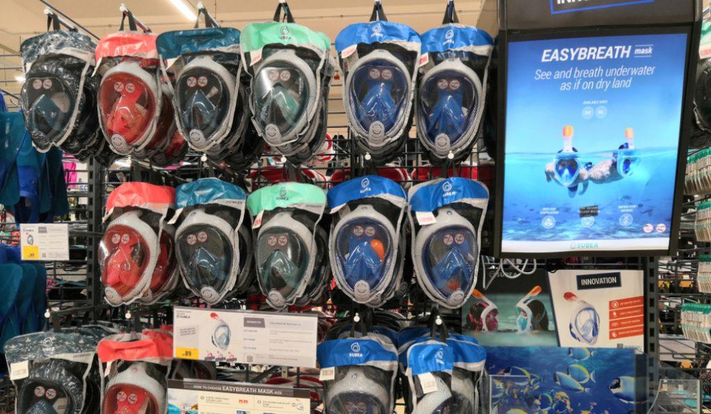 El hospital Sant Pau recibe las primeras máscaras de buceo adaptadas para sanitarios