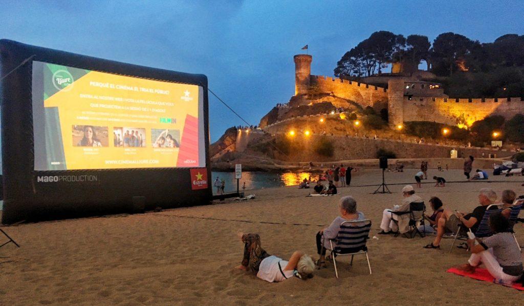 Festival de cine de verano en la playa: dónde y cuándo