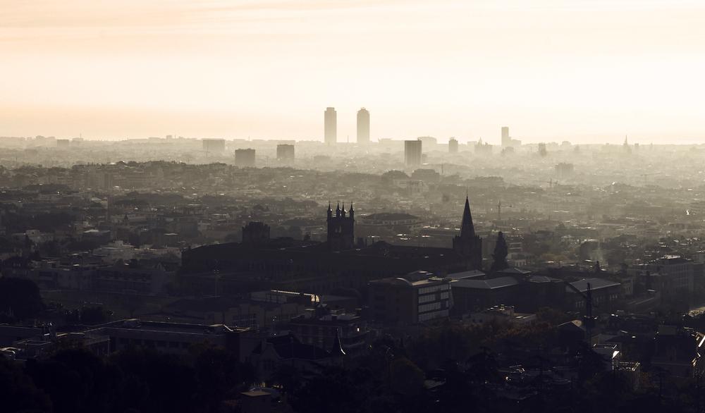 Apenas comienza la desescalada y Barcelona ya supera los niveles de contaminación