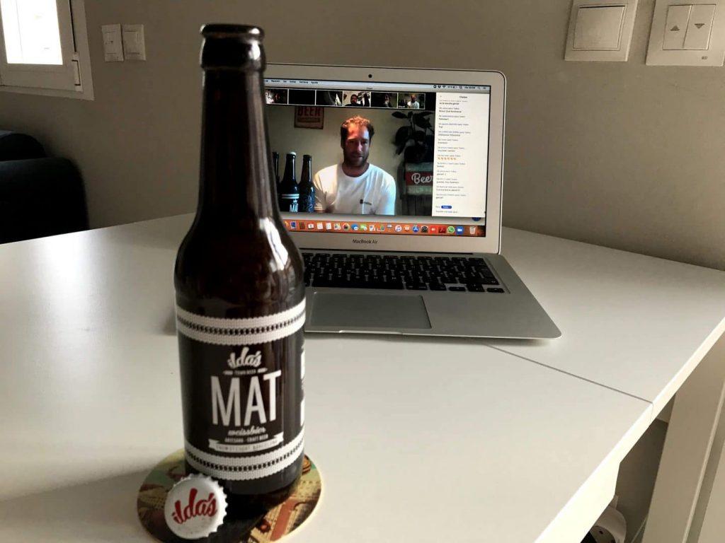 Así disfruté de una cata virtual de cerveza en pleno confinamiento