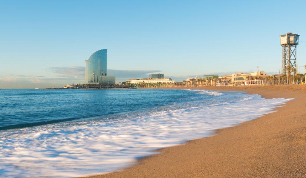 Esta app informa en tiempo real de la ocupación de las playas
