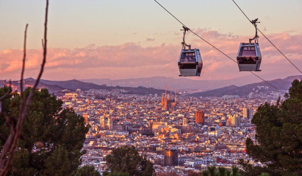El Telefèric de Montjuïc vuelve a abrir hoy con viajes gratis