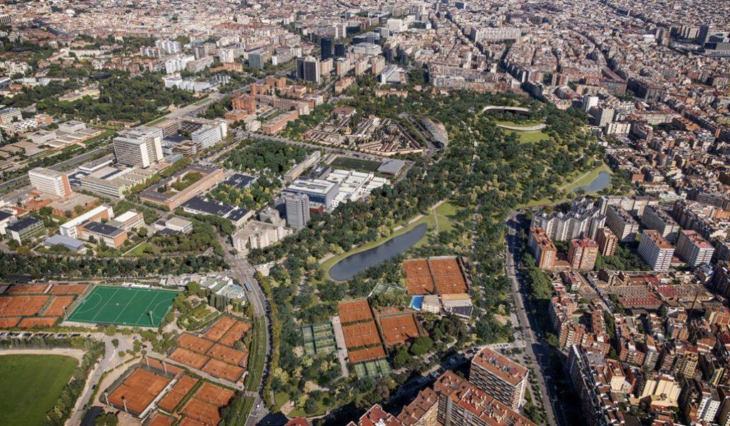 Así es el proyecto para convertir el área que rodea el Camp Nou en un gran pulmón verde
