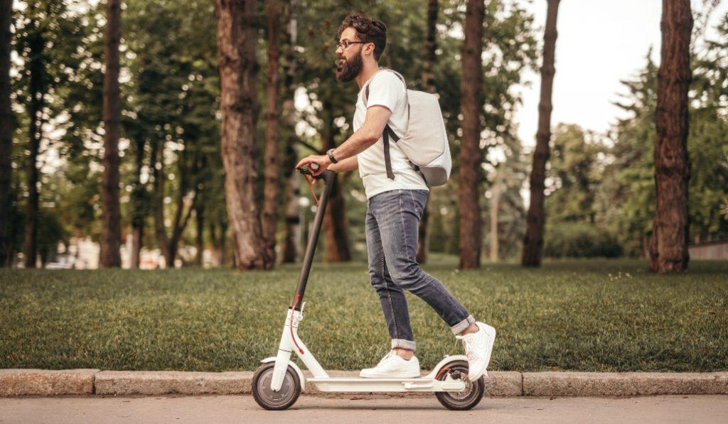 Los accidentes con patinetes aumentan pese al descenso de la movilidad