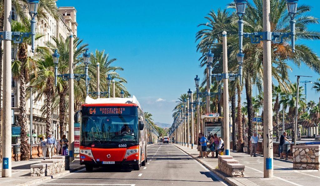 Las puertas delanteras de los autobuses vuelven a estar disponibles desde hoy
