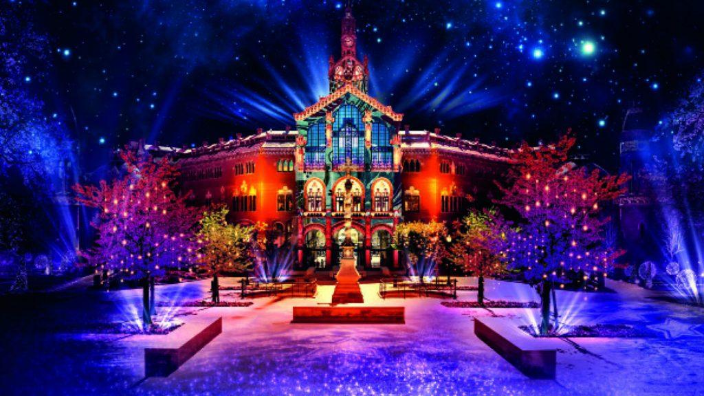 Els llums de Sant Pau: el increíble espectáculo navideño de este año
