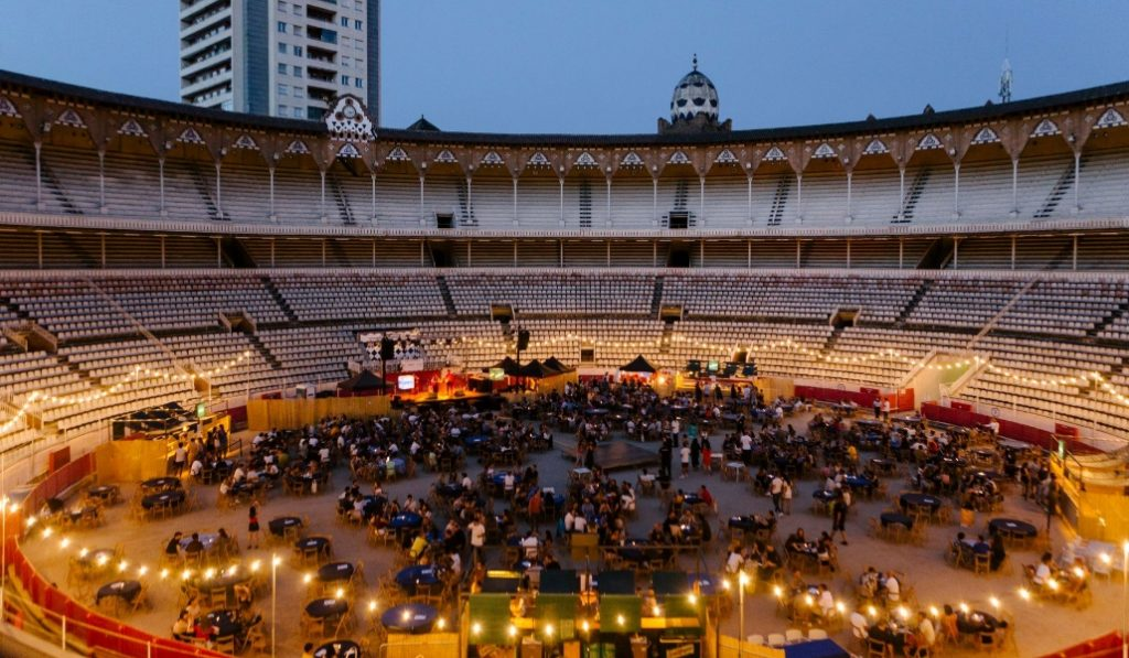 La Monumental se llena de gastronomía y música en directo