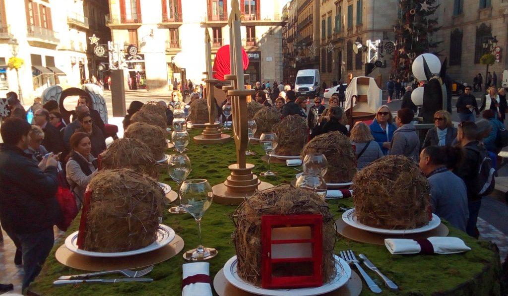 Este año no habrá pesebre en Plaza Sant Jaume