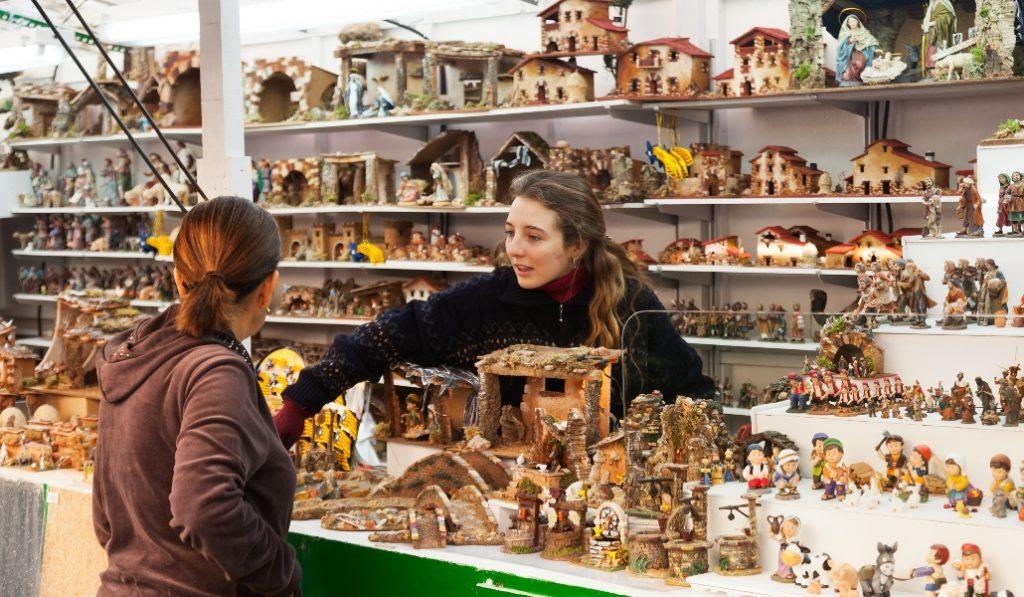 El mercado navideño de la Sagrada Familia arranca mañana