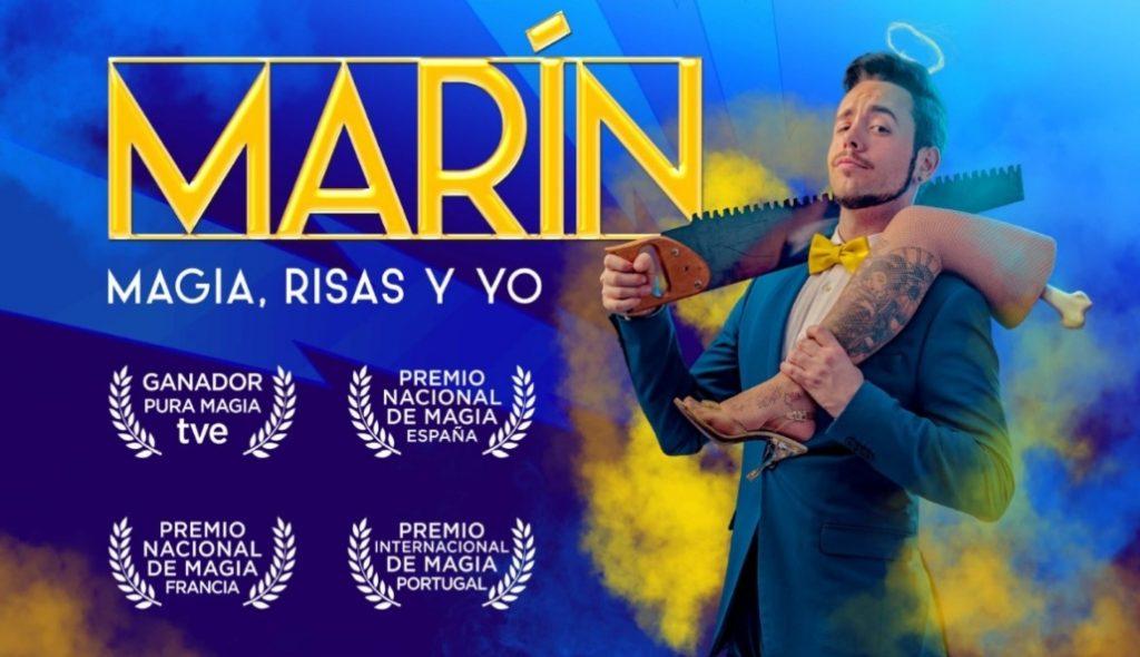 Espectáculo del Mago Marín en streaming