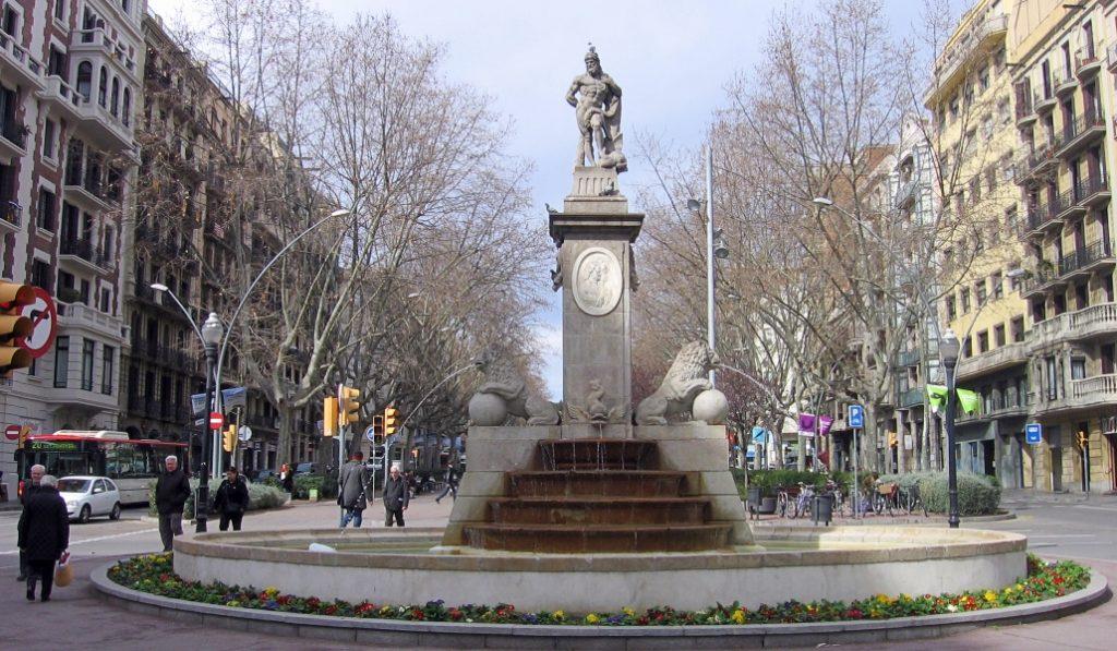 La fuente ornamental más antigua de Barcelona luce como nueva