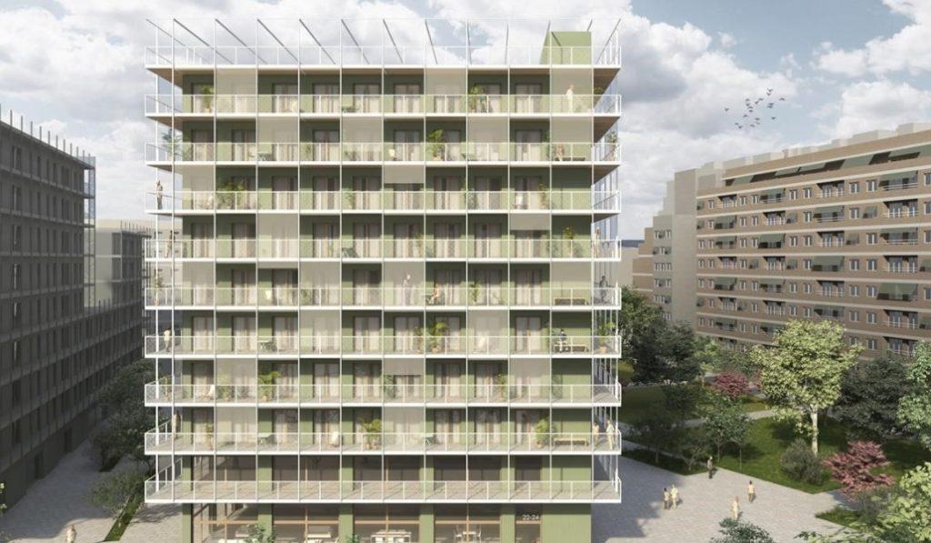 Así serán las nuevas viviendas construidas con contenedores de mercancías reciclados