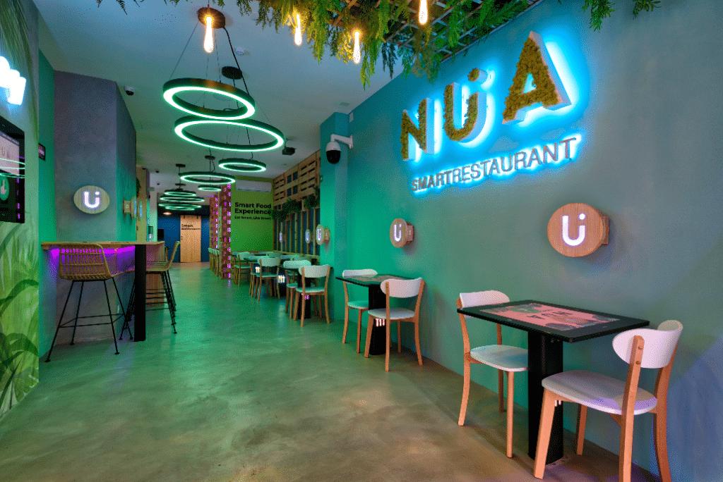 NÜA, el primer 'smart restaurant' de Europa está en Gràcia