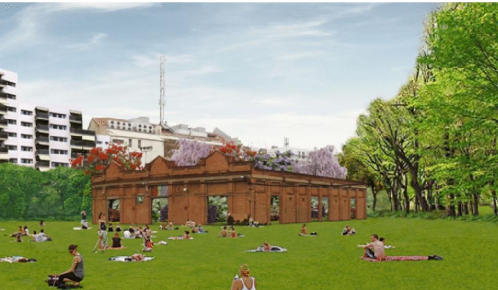 Así será el futuro parque de Can Batlló: un bosque integrado en la ciudad