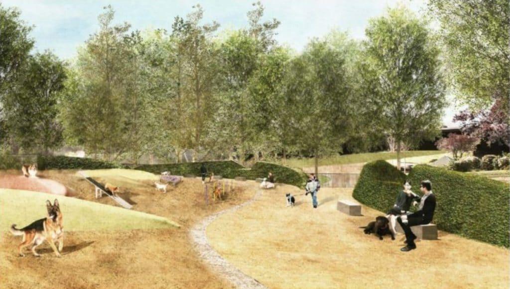El Parque de la Estació del Nord tendrá una nueva zona para perros de 1.400 m2