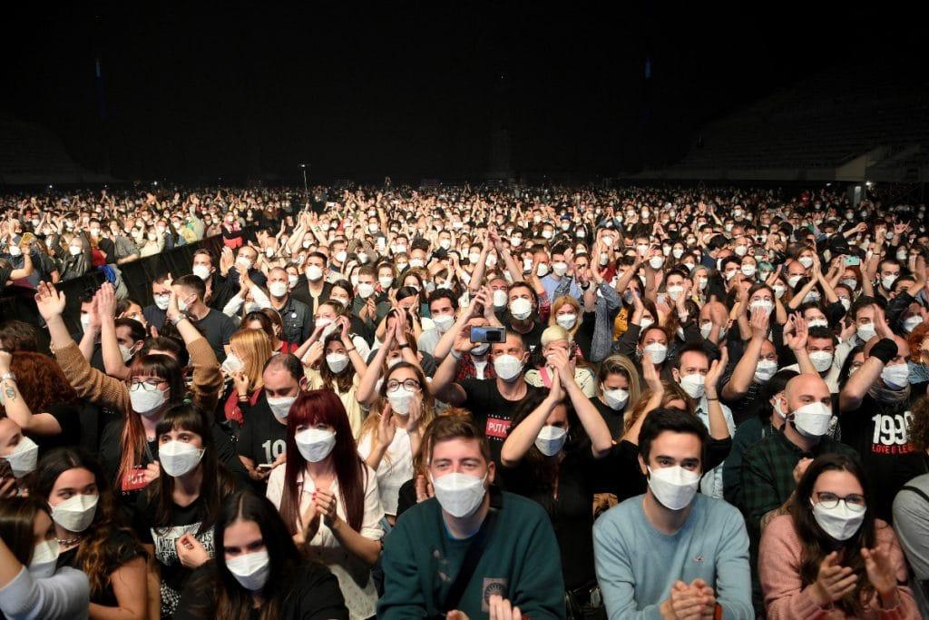 El proyecto piloto del primer concierto masivo sin distancias publicará sus resultados el 10 de abril