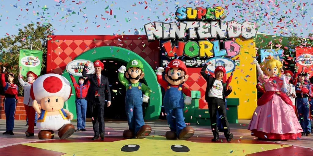 Abre el parque de atracciones de Super Mario (y en Barcelona queremos uno igual)