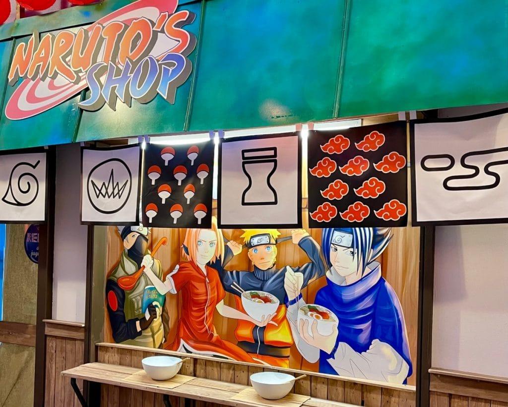 Abre la primera tienda de Naruto en Galeries Maldà