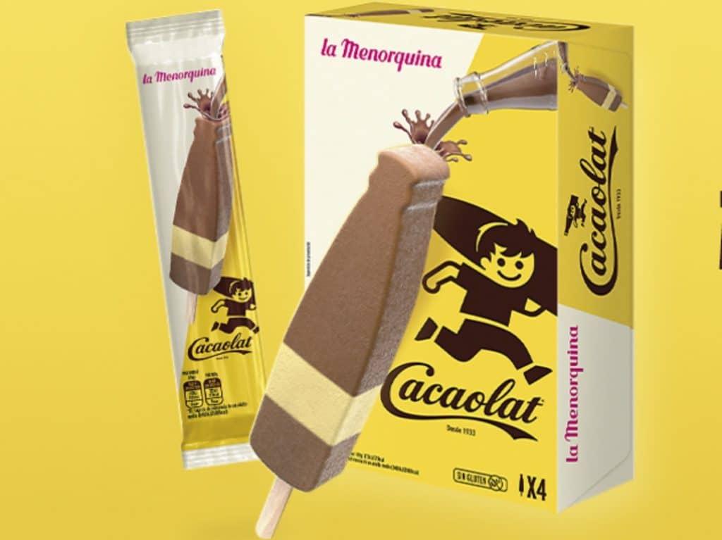 Cacaolat lanza su primer helado