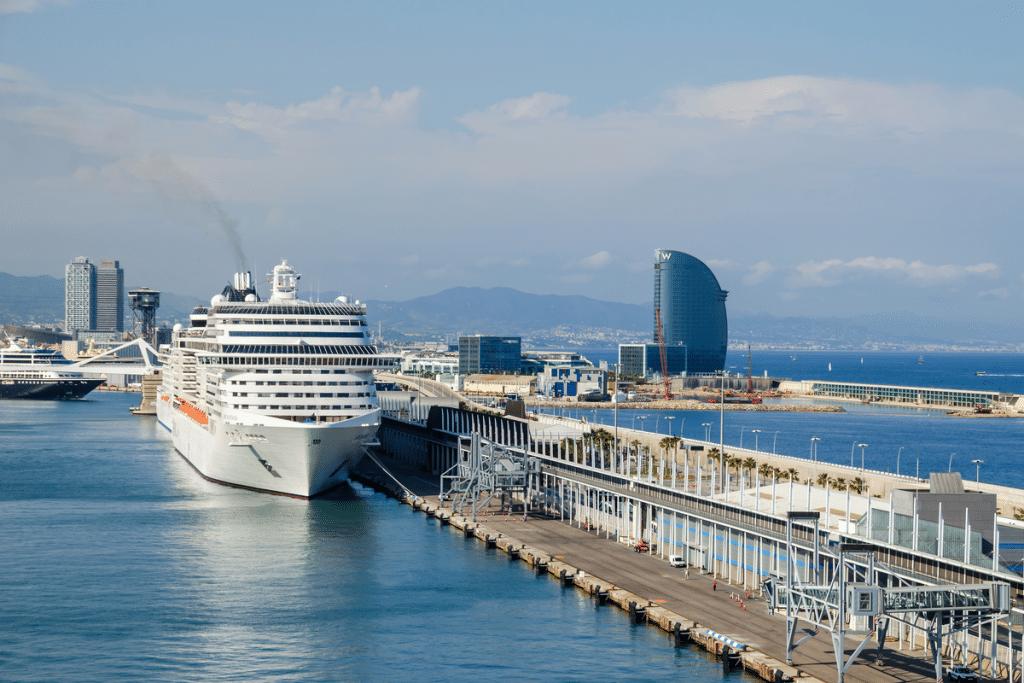 Los cruceros volverán a Barcelona a partir de junio