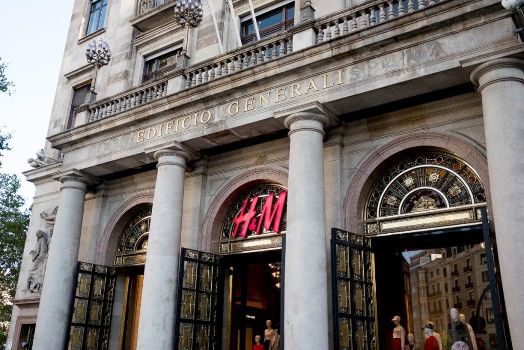 H&M cierra sus tiendas más emblemáticas