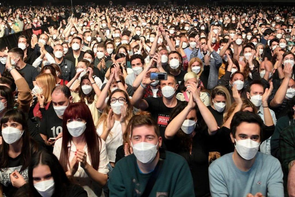 El Concierto del Palau Sant Jordi no fue un evento de 'supertransmisión'