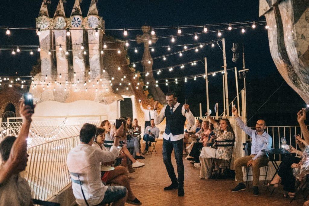 Noches Mágicas, una experiencia musical y artística en la terraza de Casa Batlló