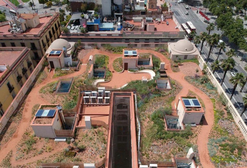 Terrats d'en Xifré: un oasis verde para vecinos del Born y Ciutat Vella