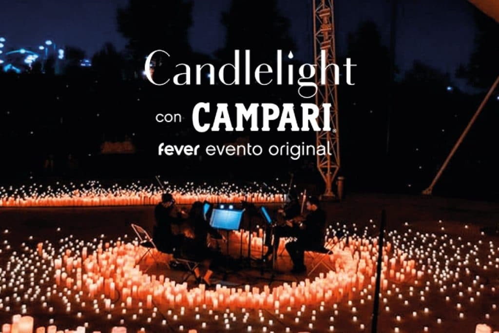 Bandas sonoras al aire libre en un exclusivo concierto de Candlelight by Campari Tonic