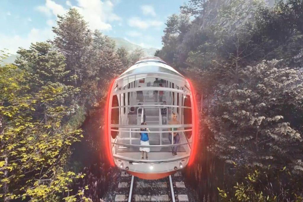 La 'Cuca de Llum', el nuevo funicular para subir al Tibidabo