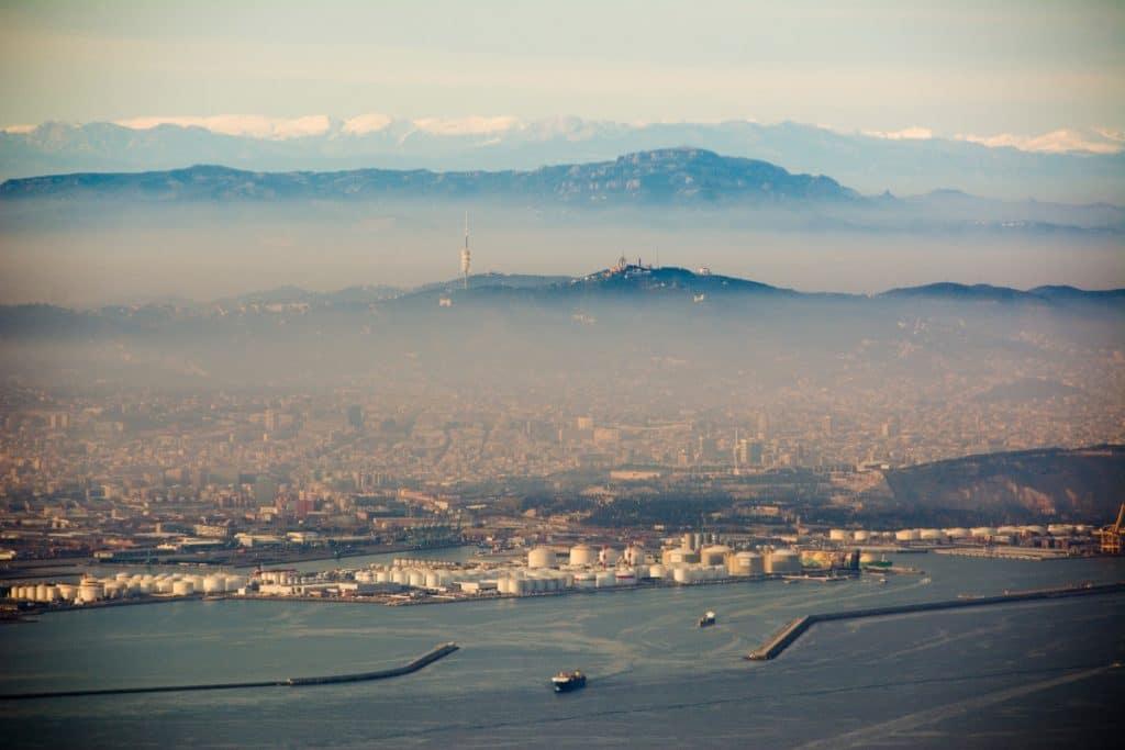 La contaminación de Barcelona, expuesta en la Bienal de Arquitectura de Venecia