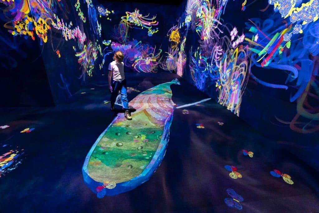 CaixaForum estrena dos instalaciones inmersivas