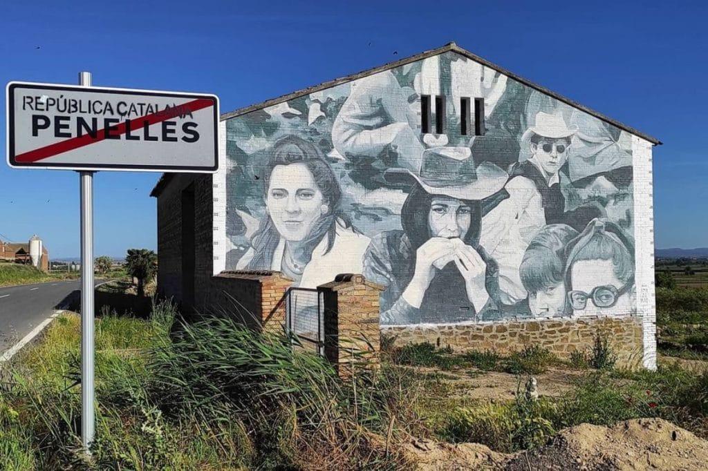 El pueblo de los grafitis