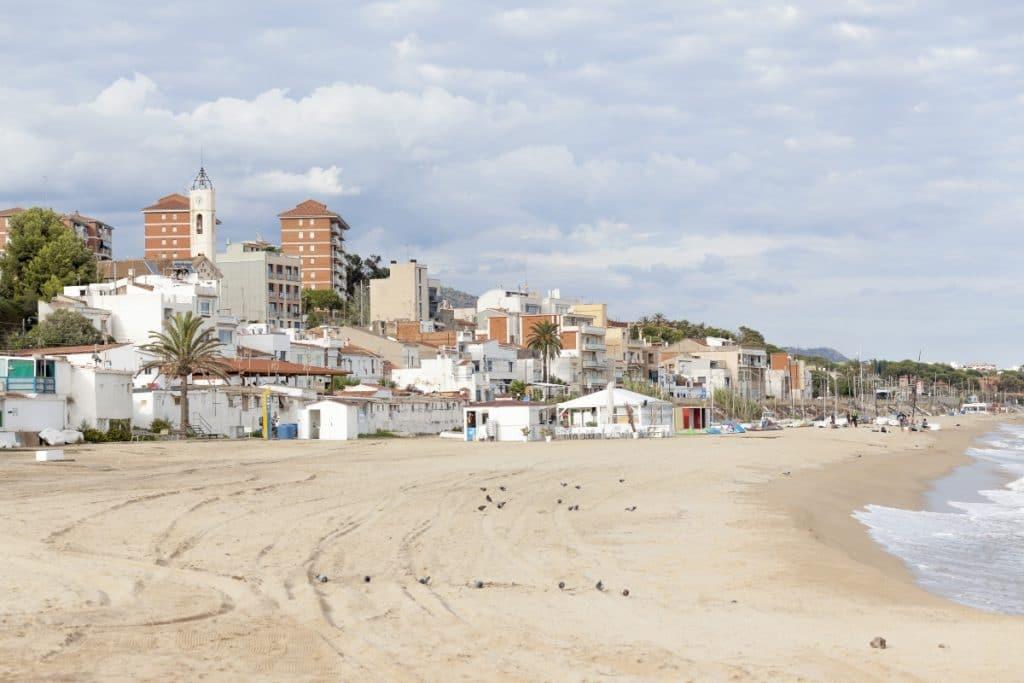 Las playas de Barcelona que pierden hasta 10 metros de ancho al año