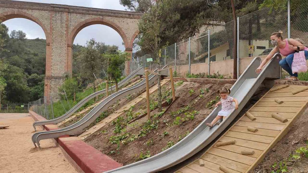 Abre el Parc de l'Aqüeducte con 12.000 m²