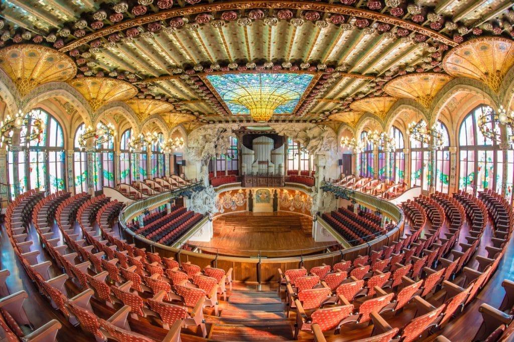 Visita el Palau de la Música Catalana antes de que cierre por reformas