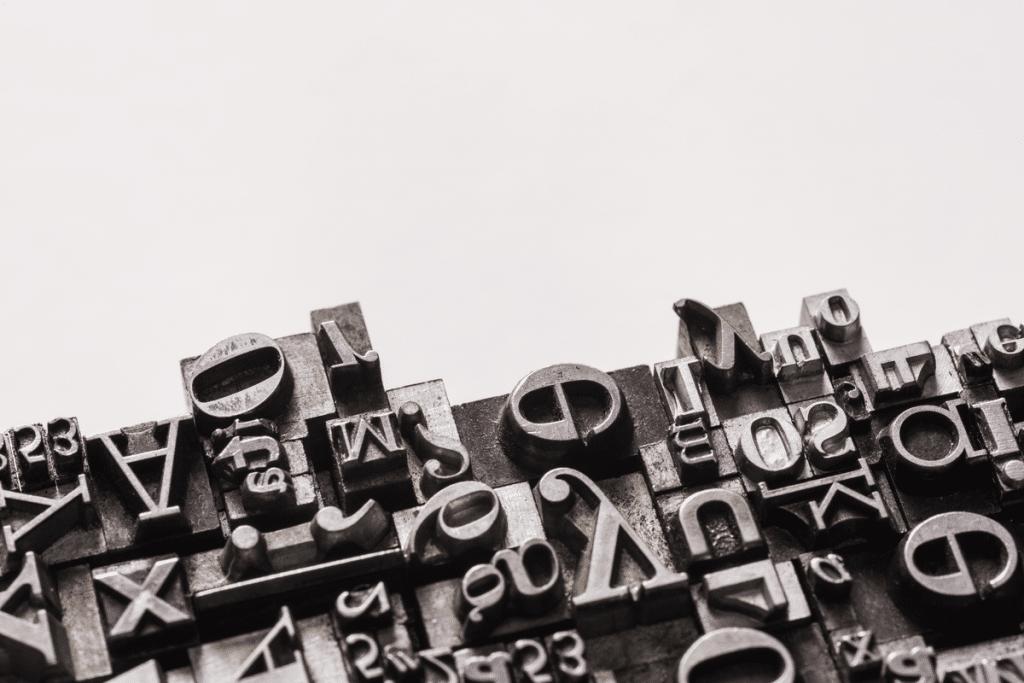 tipos imprenta