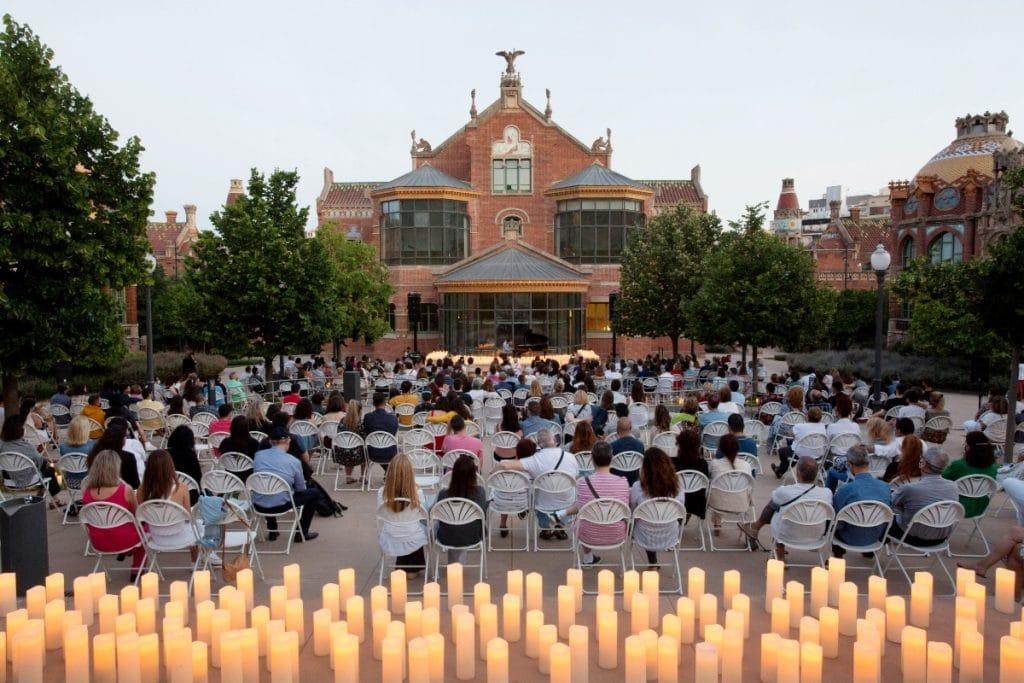 Candlelight: tributo a Ludovico Einaudi en el edificio modernista de Sant Pau