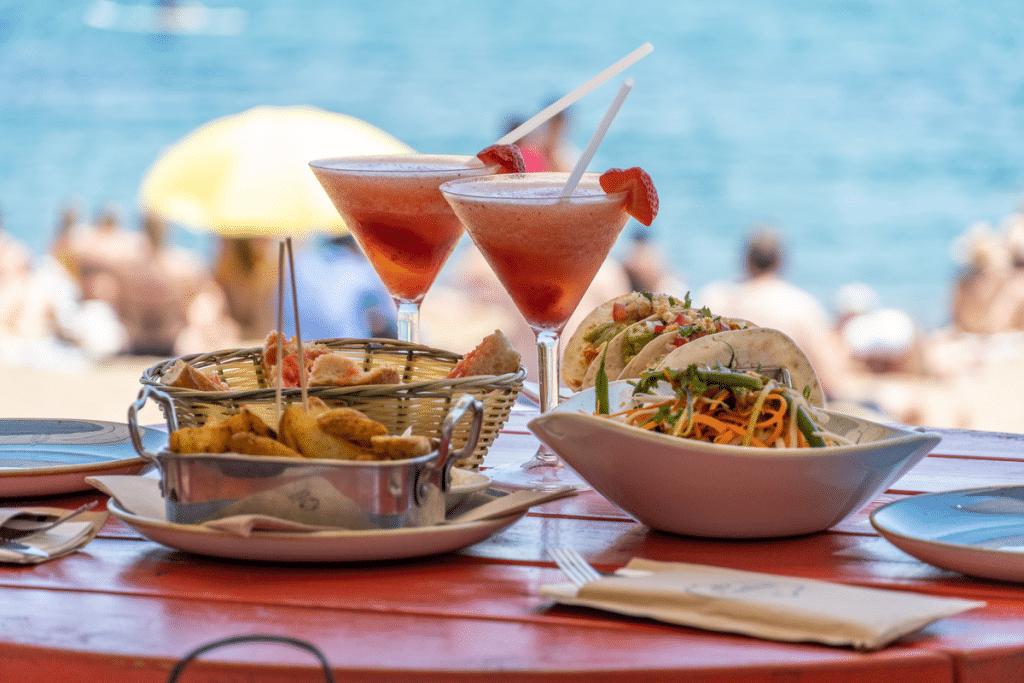 chiringuito restaurante playa
