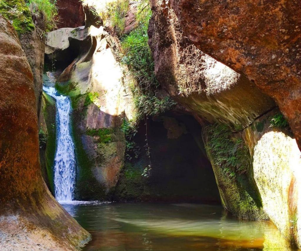 Una cascada paradisíaca a menos de una hora de Barcelona