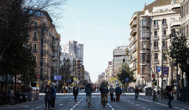 Hoy Barcelona celebra el Día Mundial Sin Coches