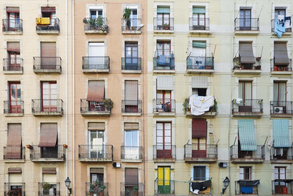 fachada balcones