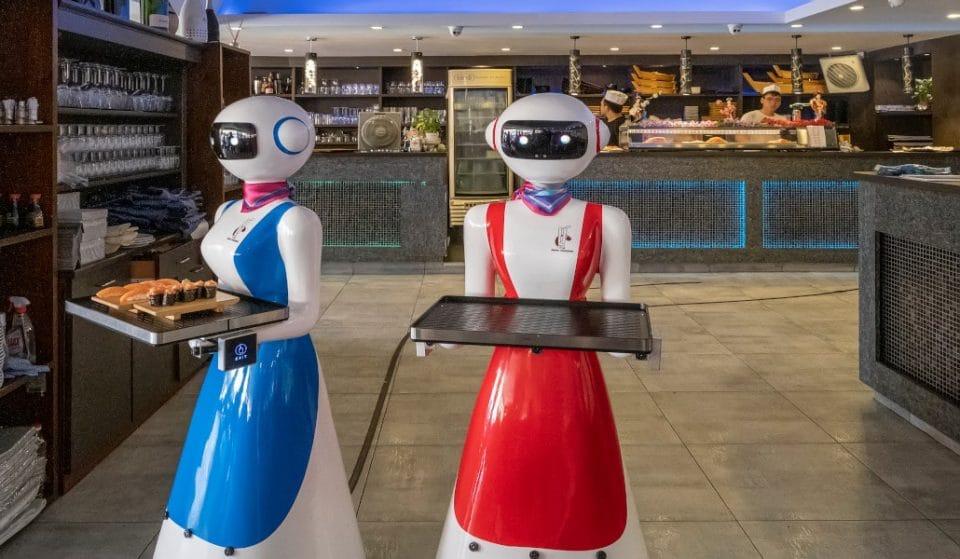El restaurante de Bilbao con una camarera robot